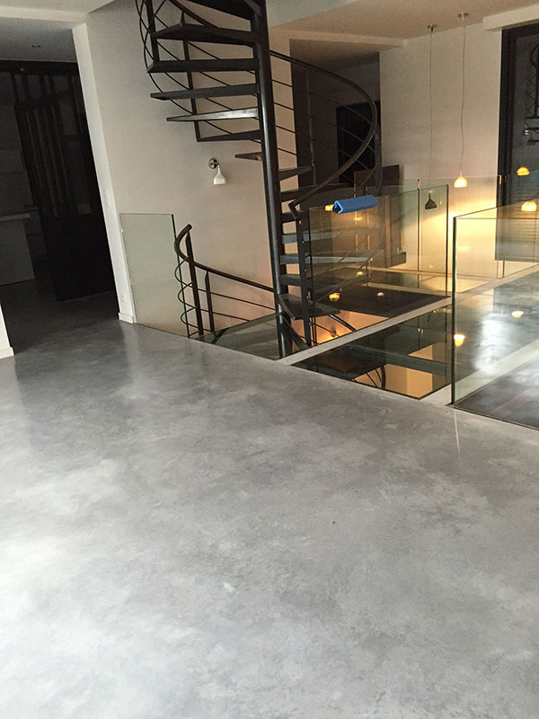 beton cire 33 dalle beton