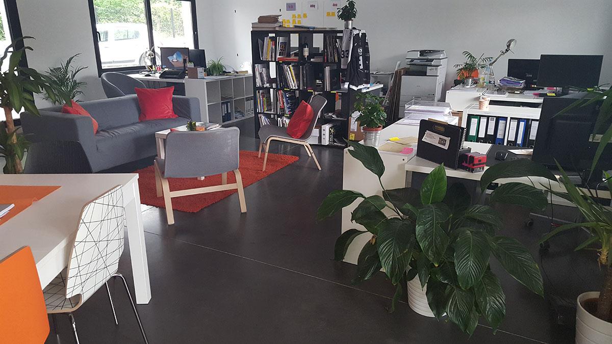 beton cire bureaux bordeaux