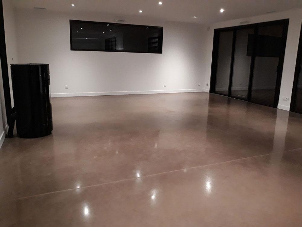 beton cire decoratif