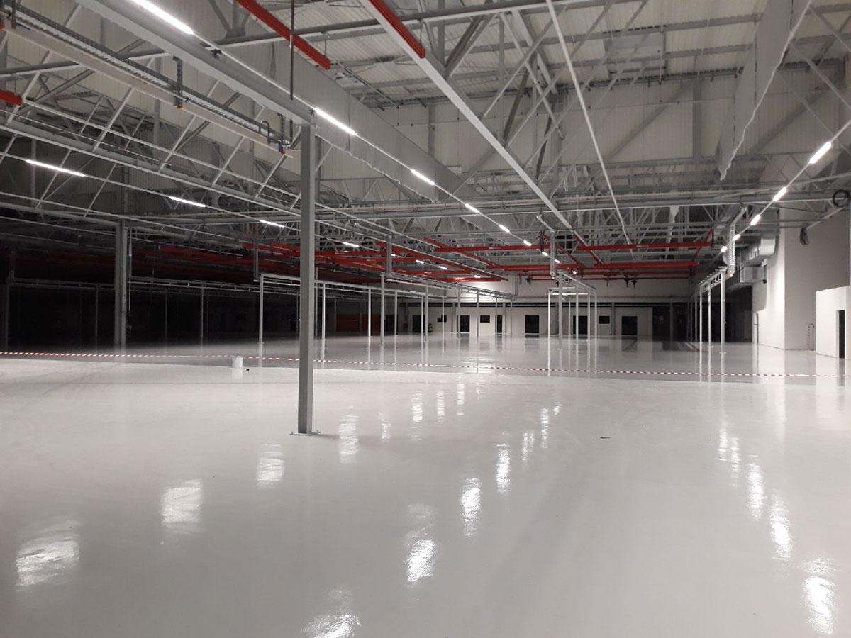beton zone industriel