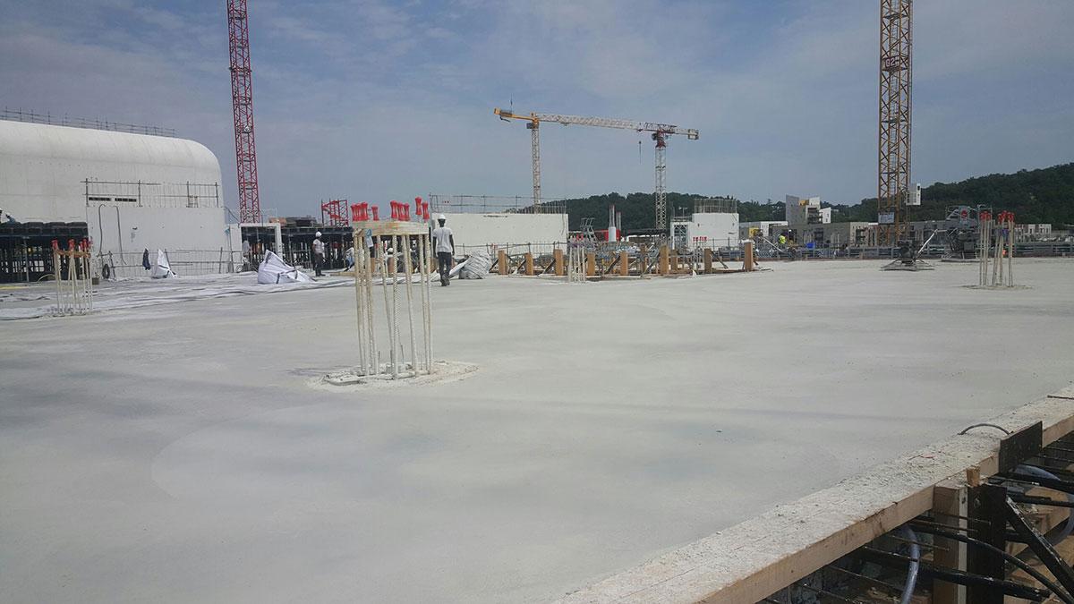 plancher beton gironde