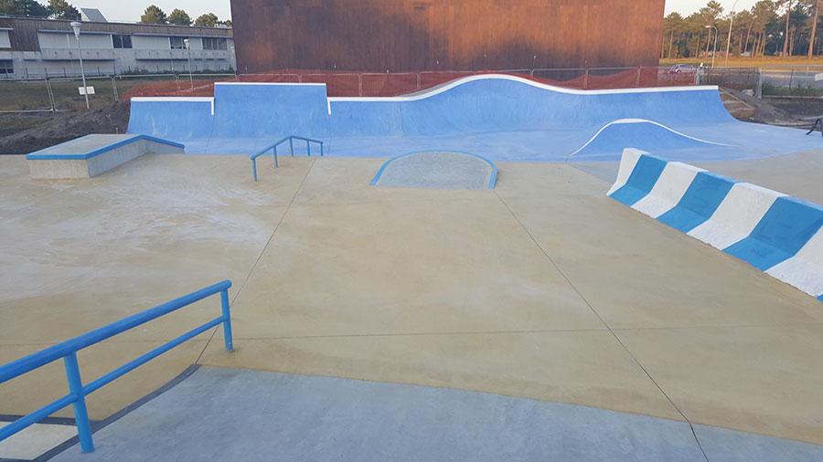 skate park beton bordeaux