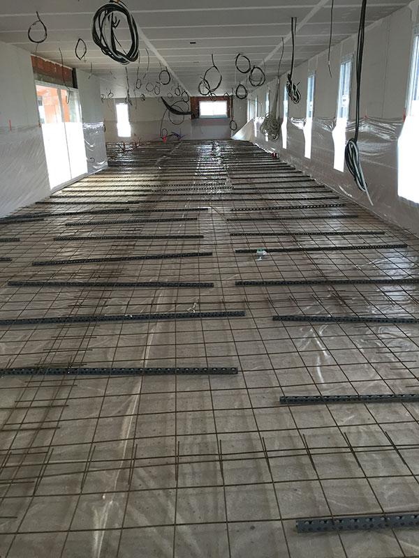 treillis beton cire bordeaux