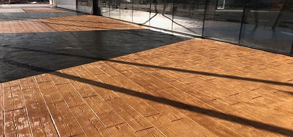 pose beton,décoratif imitation-plancher